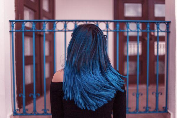 Синие волосы - Sputnik Беларусь