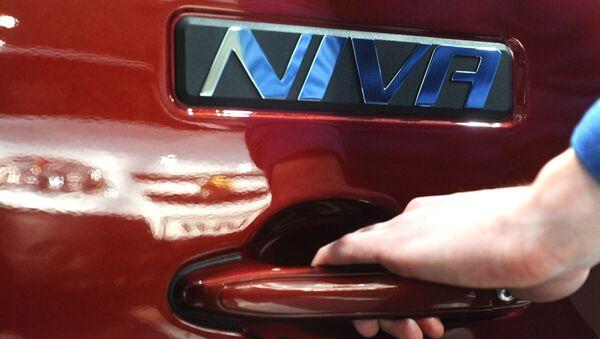Автомобиль Chevrolet Niva, архивное фото - Sputnik Беларусь