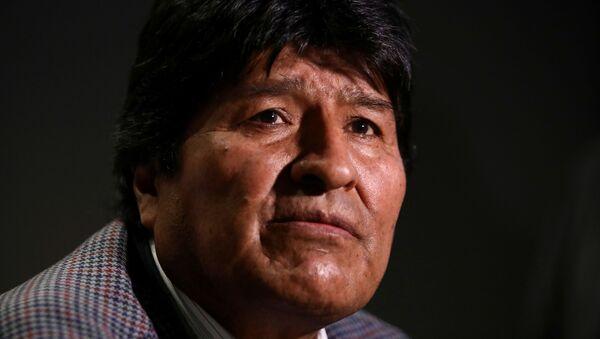 Экс-президент Боливии Эво Моралес - Sputnik Беларусь