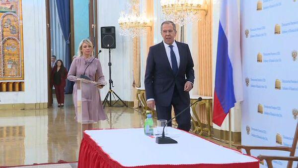 Лаўроў: можа быць, ужо і нашых дыпламатаў абвінавацяць у допінгу - Sputnik Беларусь