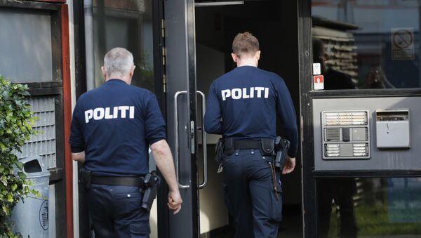 Сотрудники полиции в Дании, архивное фото - Sputnik Беларусь