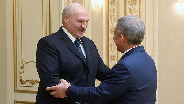 Лукашенко рассказал, где найти новые точки роста товарооборота с Татарстаном - Sputnik Беларусь