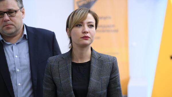 Глава МИД самопровозглашенной ДНР Наталья Никонорова - Sputnik Беларусь