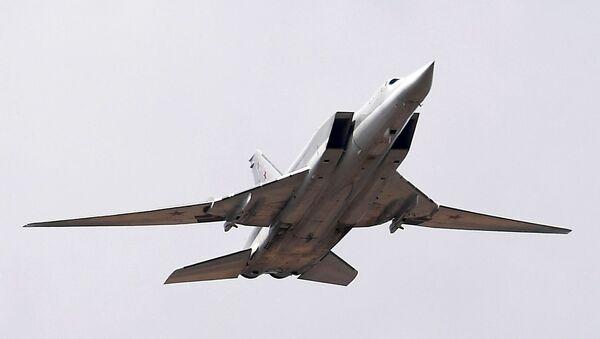 Дальний ракетоносец-бомбардировщик Ту-22М3 - Sputnik Беларусь