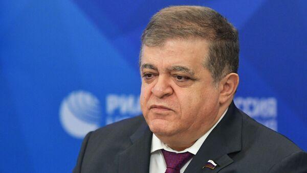 Первый заместитель председателя Комитета Совета Федерации РФ по международным делам Владимир Джабаров - Sputnik Беларусь