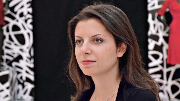 Главный редактор телеканала RT и МИА Россия сегодня Маргарита Симоньян - Sputnik Беларусь