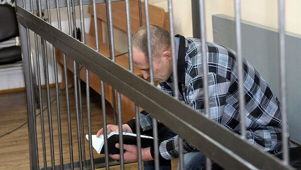 Александр Осипович на суде - Sputnik Беларусь