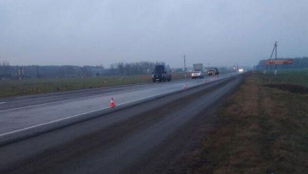 В Пинском районе ведется поиск водителя, который насмерть сбил пешехода и скрылся с места ДТП - Sputnik Беларусь