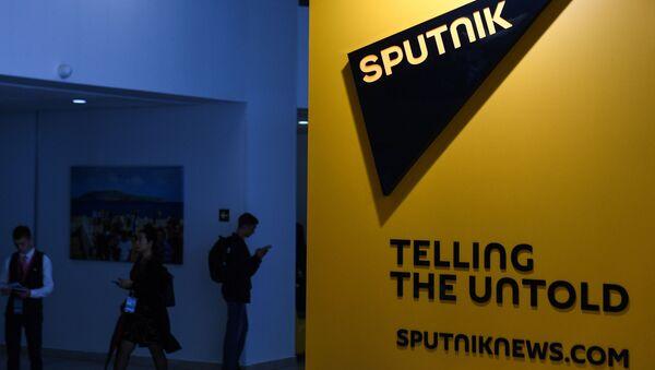 Логотип международного информационного агентства и радио Sputnik - Sputnik Беларусь