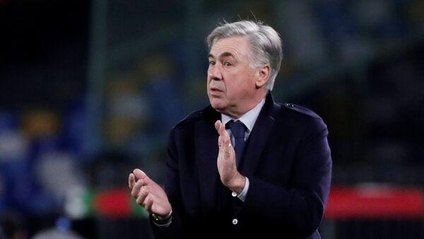 Итальянский футбольный тренер Карло Анчелотти - Sputnik Беларусь