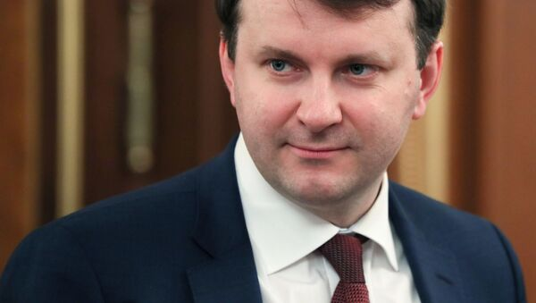 Министр экономического развития России Максим Орешкин - Sputnik Беларусь