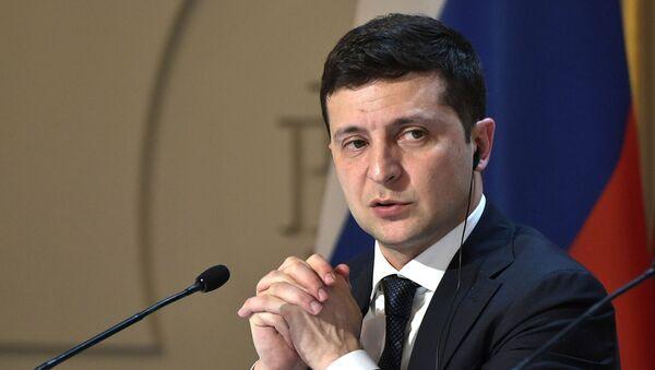 Президент Украины Владимир Зеленский - Sputnik Беларусь