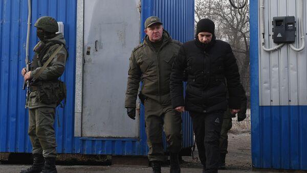 Обмен военнопленными между ДНР, ЛНР и Украиной в Донецкой области - Sputnik Беларусь