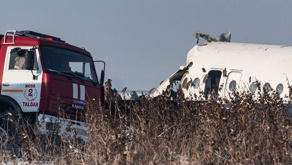 Крушение пассажирского самолета в Казахстане - Sputnik Беларусь