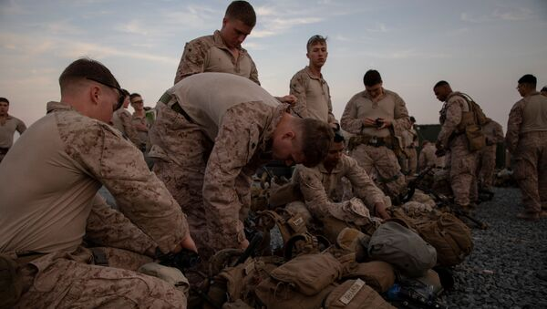 Американские военные на базе в Кувейте - Sputnik Беларусь
