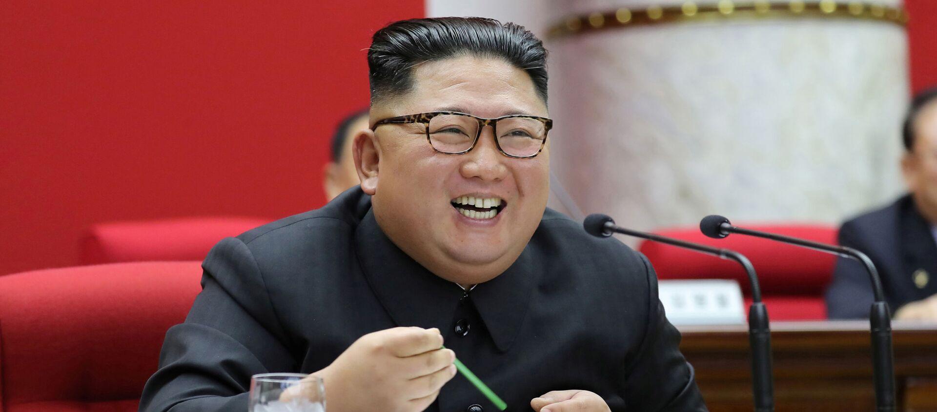 Глава КНДР Ким Чен Ын  - Sputnik Беларусь, 1920, 01.02.2021