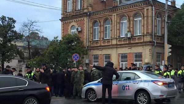 Акция протеста в Абхазии - Sputnik Беларусь