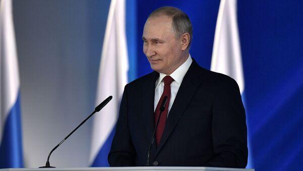 Ежегодное послание президента РФ В. Путина Федеральному Собранию - Sputnik Беларусь