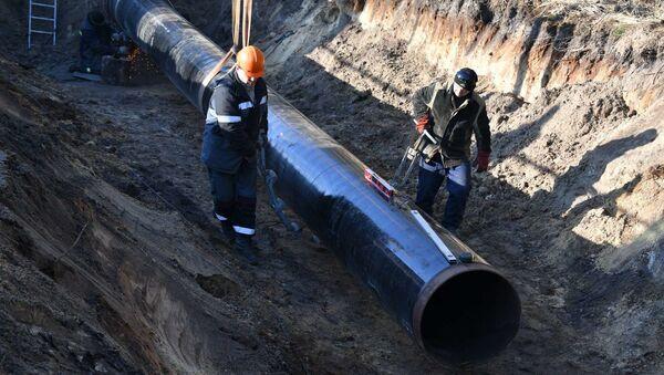 Рамонт нафтаправода Дружба - Sputnik Беларусь