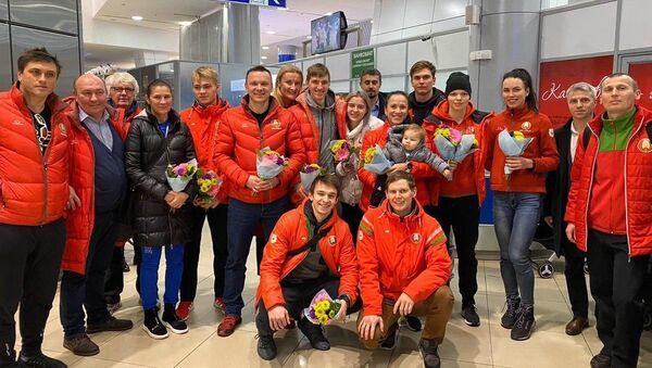 Конькобежная сборная Беларуси - Sputnik Беларусь
