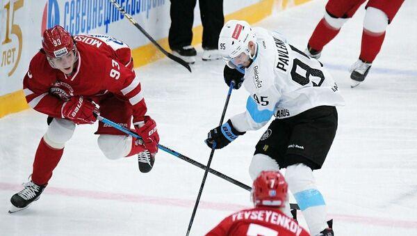 Матч КХЛ Витязь - Динамо-Минск - Sputnik Беларусь