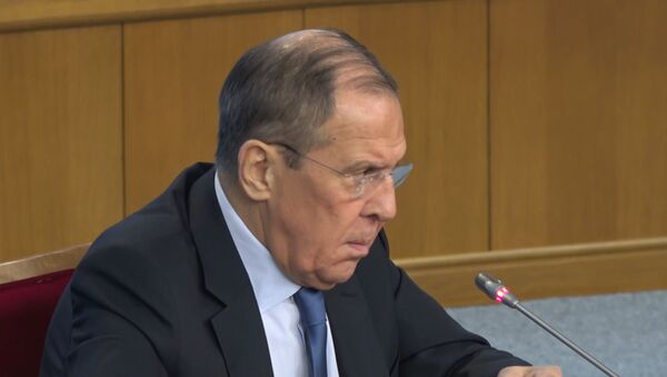Гэта абуральна: Лаўроў выказаўся пра сітуацыю са Sputnik Эстонія – відэа - Sputnik Беларусь