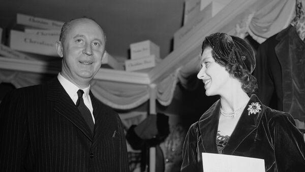 Кристиан Диор и принцесса Маргарет - Sputnik Беларусь