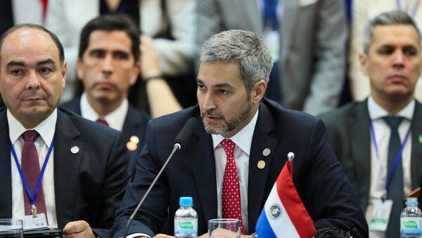 Президент Парагвая Марио Абдо Бенитес - Sputnik Беларусь