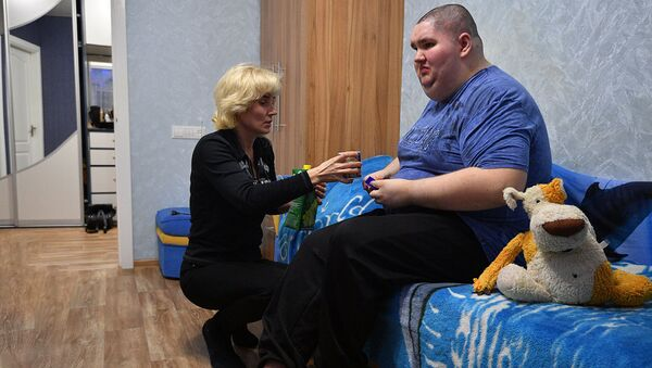 Как минчанка ухаживает за сыновьями-инвалидами, видео - Sputnik Беларусь