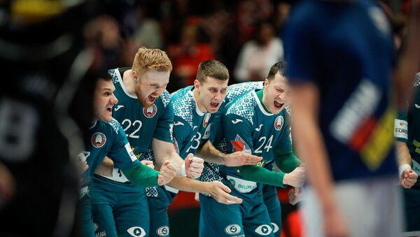 Чемпионат Европы по гандболу, матч Беларусь - Австрия - Sputnik Беларусь