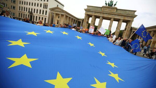 Демонстрация в Берлине - Sputnik Беларусь