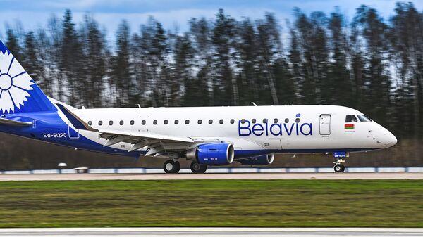 Самолет авиакомпании Белавиа EMBRAER 175 - Sputnik Беларусь