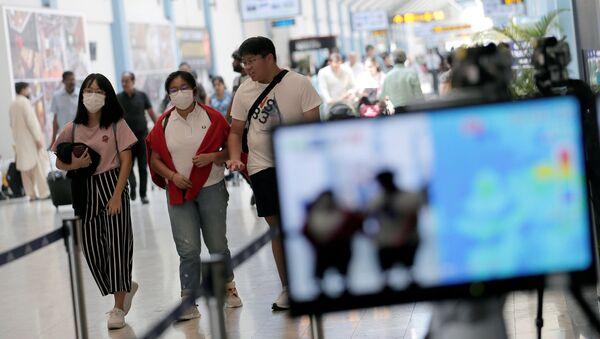 Ситуация в аэропорту Шри-Ланки - Sputnik Беларусь