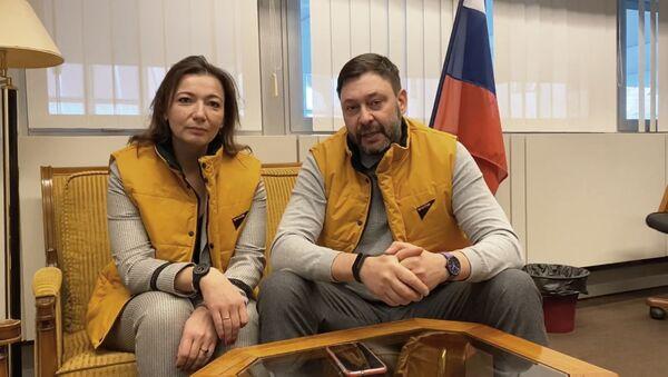 Вышинский и Черышева рассказали, что хотят спасти самоуважение европейцев - Sputnik Беларусь