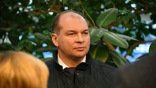 Генеральный директор Мозырского НПЗ Виталий Павлов - Sputnik Беларусь