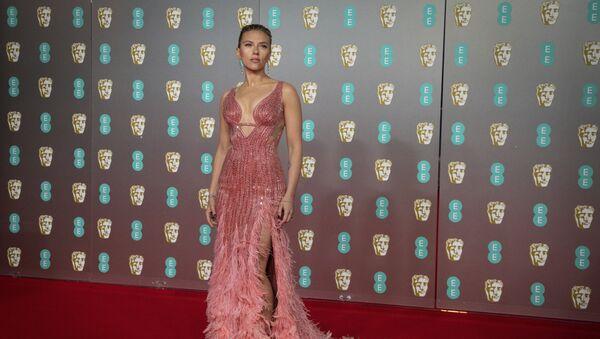 Американская актриса Скарлетт Йоханссон на вручении премии BAFTA  - Sputnik Беларусь