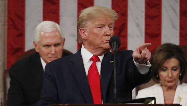 Президент США Дональд Трамп  - Sputnik Беларусь