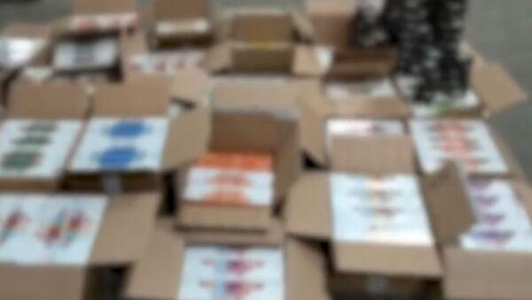 Милиция выявила нелегальный канал поставки табачной продукции – видео - Sputnik Беларусь