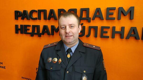 Заместитель начальника ГАИ Минской области Дмитрий Христовский - Sputnik Беларусь