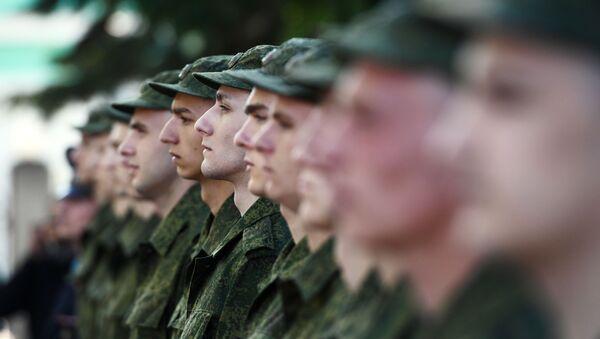 Военнослужащие, архивное фото - Sputnik Беларусь