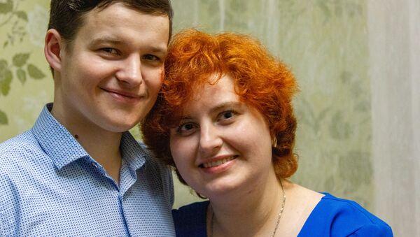 Алексей и Катерина Гаркун познакомились в соцсетях - Sputnik Беларусь