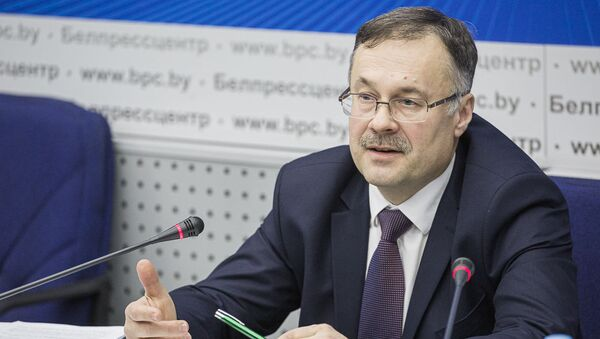 Первый заместитель председателя Верховного суда Беларуси Валерий Калинкович - Sputnik Беларусь