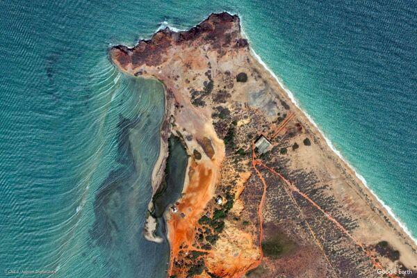 Изображение из космоса местности в районе города Эль Бичар штата Нуэва-Эспарта, Венесуэла - Sputnik Беларусь