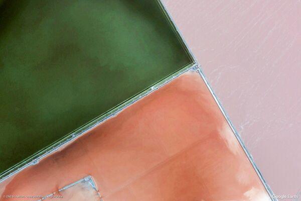 Изображение из космоса местности в Крыму, Россия - Sputnik Беларусь