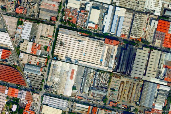 Изображение из космоса района Мехико, Мексика - Sputnik Беларусь