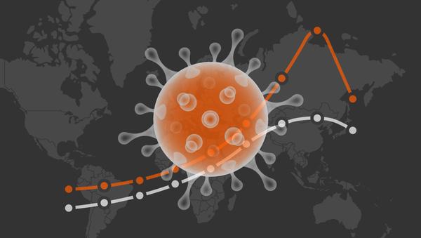 Динамика развития эпидемии, вызванной коронавирусом COVID-2019   Инфографика на sputnik.by - Sputnik Беларусь