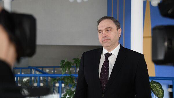 Міністр аховы здароўя Беларусі Уладзімір Каранік - Sputnik Беларусь