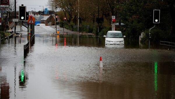 Наводнение, вызванное ураганом Деннис - Sputnik Беларусь