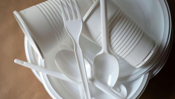 Пластиковая посуда - Sputnik Беларусь
