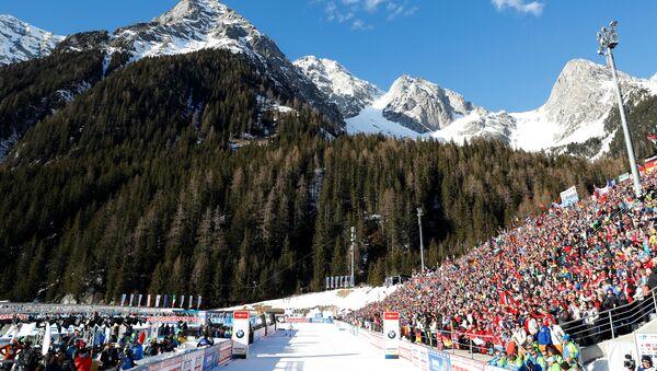 Чемпионат мира по биатлону в итальянском Антхольце - Sputnik Беларусь
